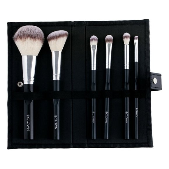 Crown Pro 6 Piece Limited Ed. Syntho Brush Set